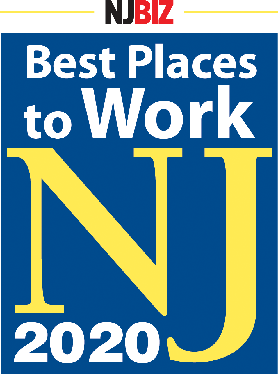 Best Places to Work NJ 2020 logo