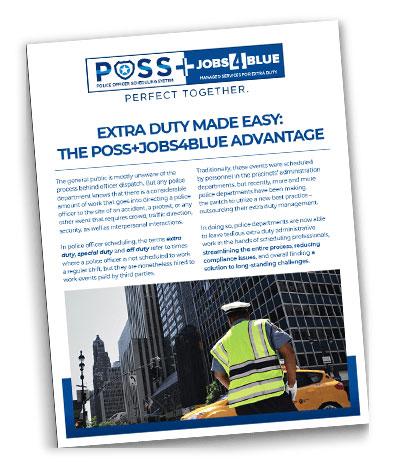 Job4Blue extra duty case study