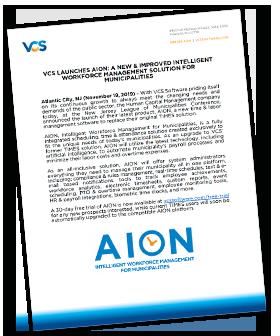 VCS AION Press Release