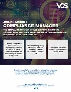 compliance manager module cover