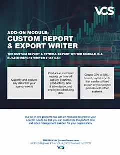 custom report module cover