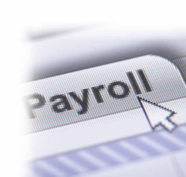 payroll screen